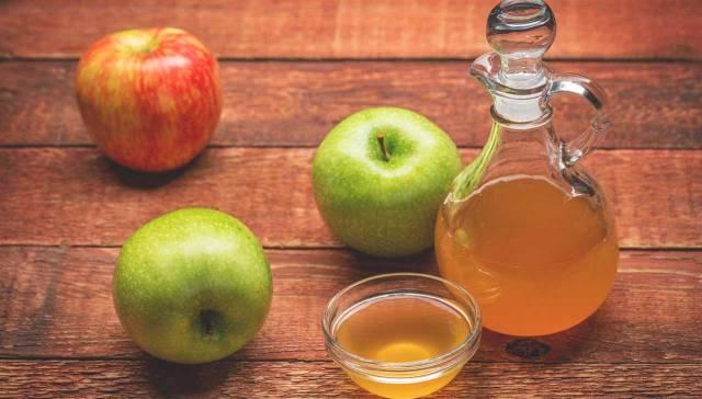como se toma el vinagre de manzana para el estrenimiento